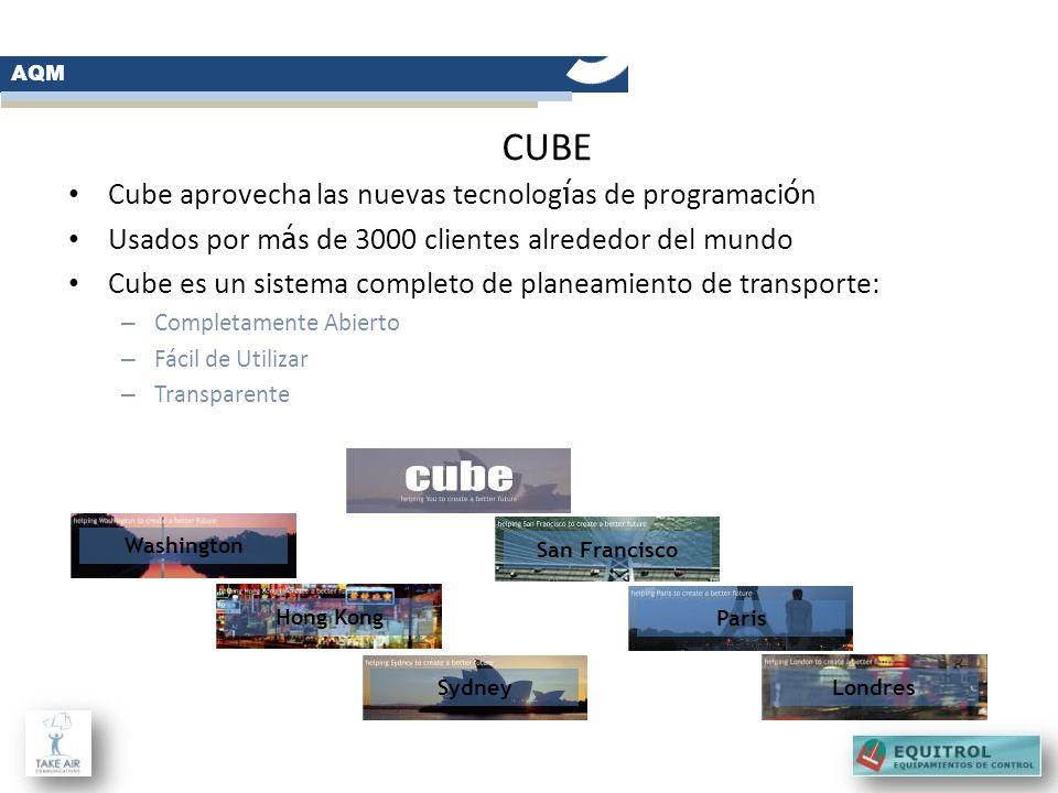 Cube aprovecha las nuevas tecnolog í as de programaci ó n Usados por m á s de 3000 clientes alrededor del mundo Cube es un sistema completo de planeam
