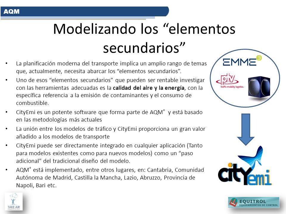 Modelizando los elementos secundarios La planificación moderna del transporte implica un amplio rango de temas que, actualmente, necesita abarcar los