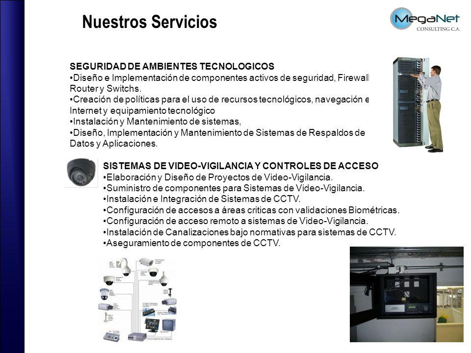 SEGURIDAD DE AMBIENTES TECNOLOGICOS Diseño e Implementación de componentes activos de seguridad, Firewall, Router y Switchs.