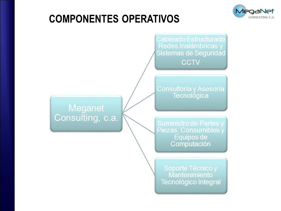 COMPONENTES OPERATIVOS Meganet Consulting, c.a.