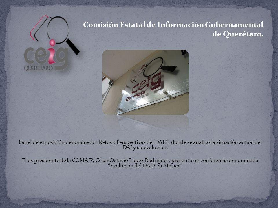 Comisión Estatal de Información Gubernamental de Querétaro.
