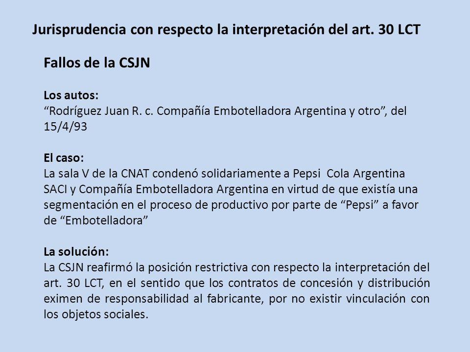 Fallos de la CSJN Los autos: Rodríguez Juan R.c.