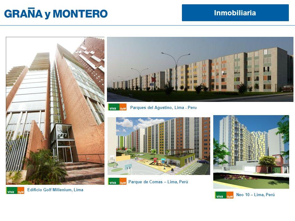 Inmobiliaria Edificio Golf Millenium, Lima Parques del Agustino, Lima - Peru Parque de Comas – Lima, Perú Neo 10 – Lima, Perú