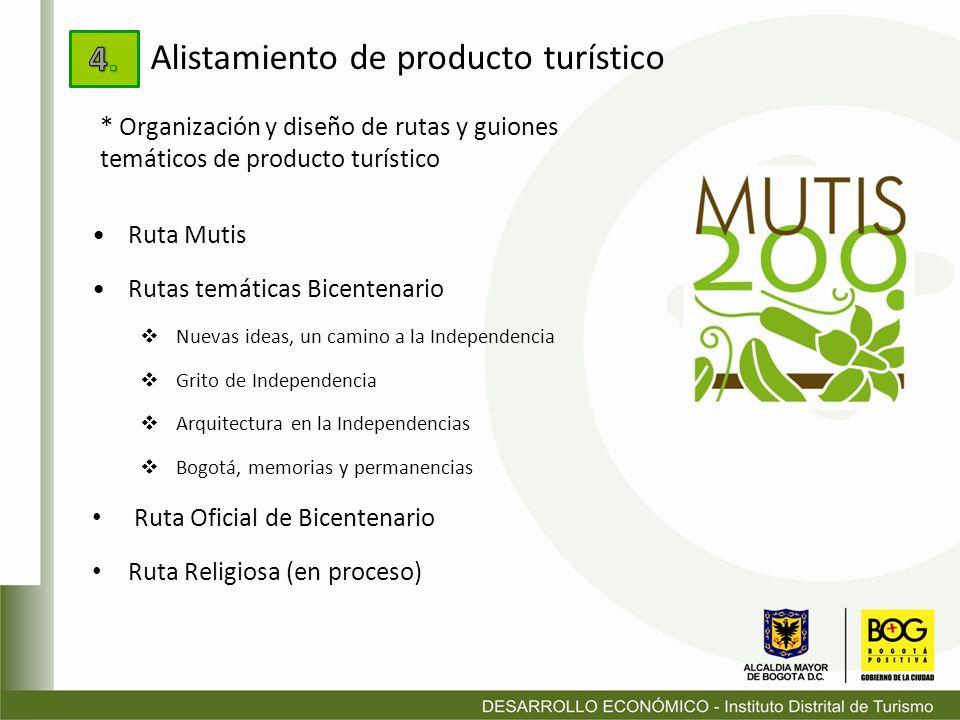Ruta Mutis Rutas temáticas Bicentenario Nuevas ideas, un camino a la Independencia Grito de Independencia Arquitectura en la Independencias Bogotá, me