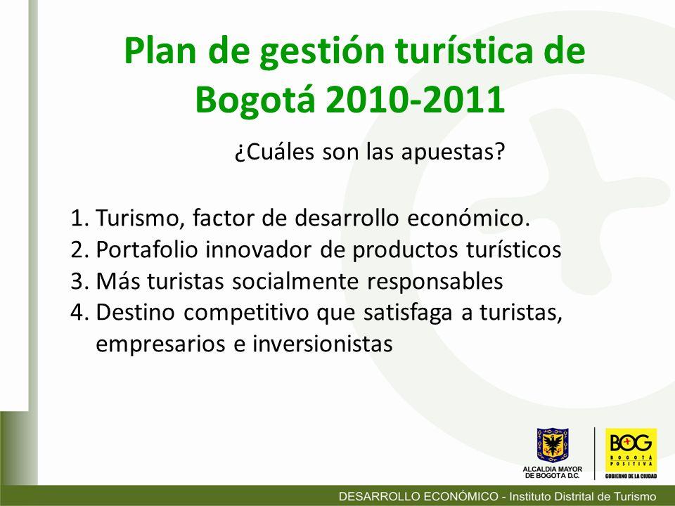 1.Estrategia Regional: La Consolidación de la Región 2.Estrategia Metropolitana: Apuestas prioritarias Bogotá Internacional 3.Estrategia Urbana y Zonal 4.Estrategia Normativa de la planta turística 5.Estrategia de gestión y financiación del plan 6.Estrategia de seguimiento del plan Plan Maestro Estratégico de Servicios Turísticos