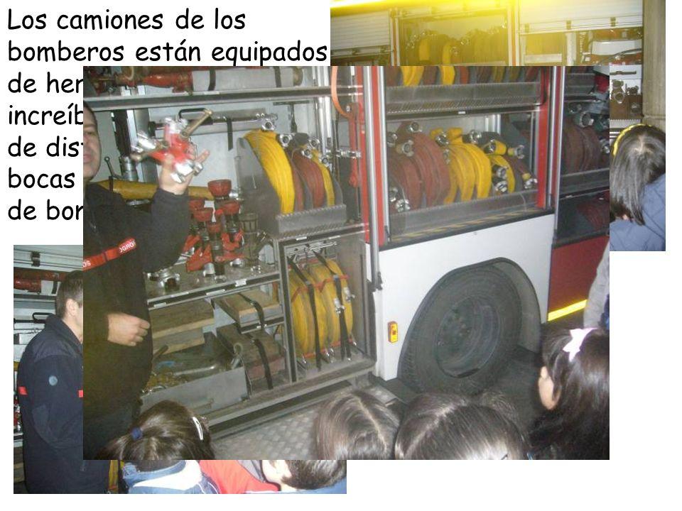 Los bomberos están siempre dispuestos para salir.