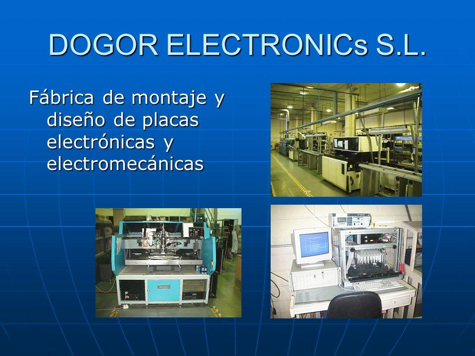 DOGOR ELECTRONICs S.L. Fábrica de montaje y diseño de placas electrónicas y electromecánicas