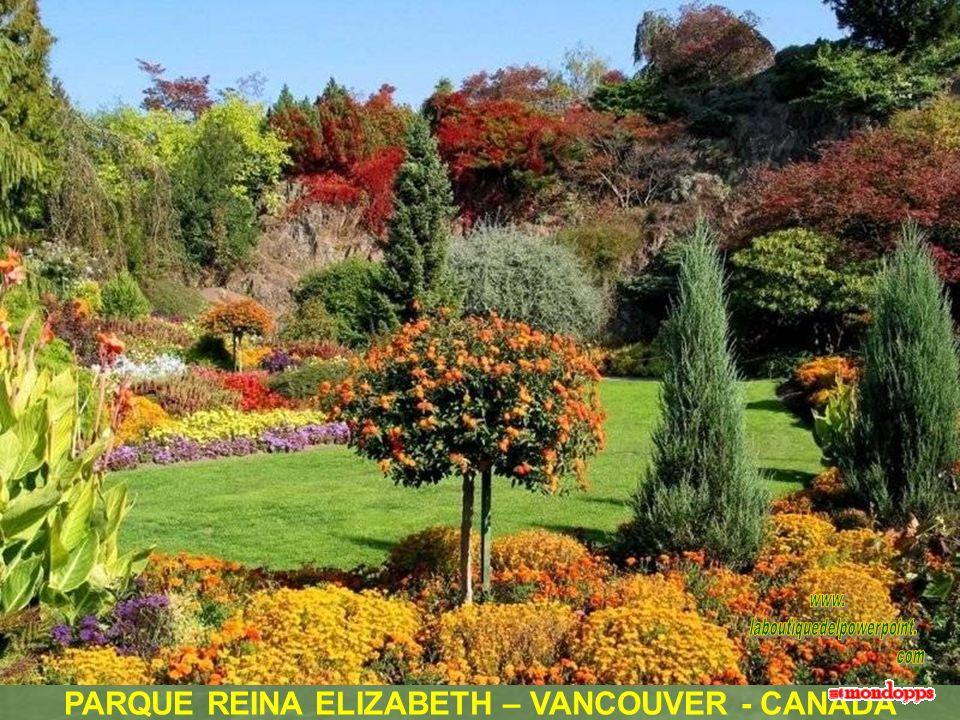 PARQUE REINA ELIZABETH – VANCOUVER - CANADA
