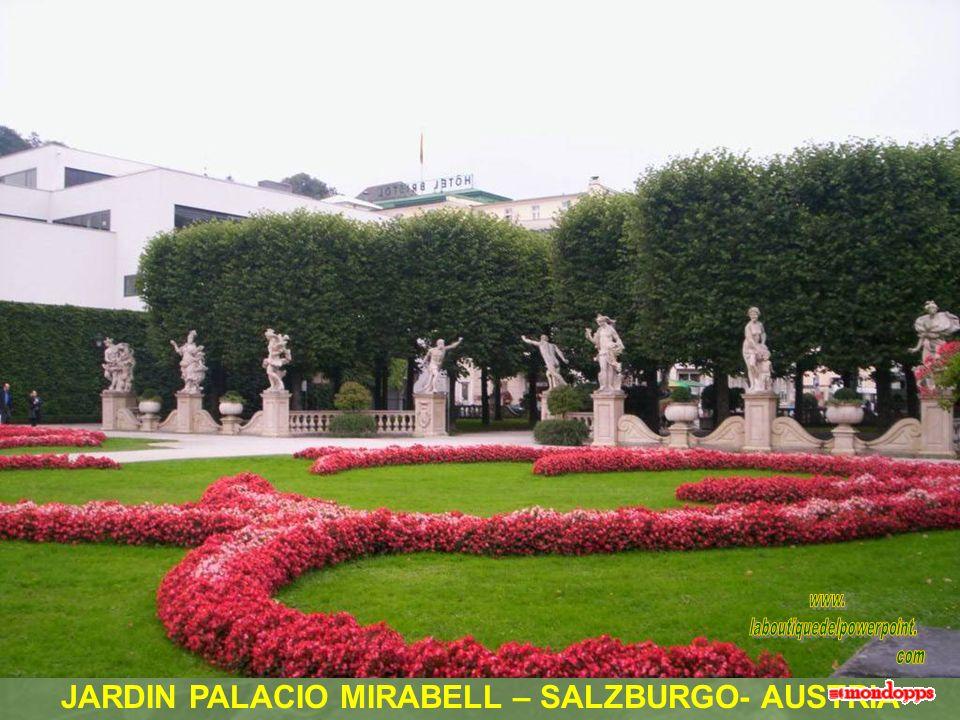 JARDINES PALACIO MIRABELL – SALZBURGO - AUSTRIA