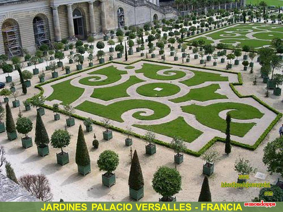 JARDINES PALACIO VERSALLES - FRANCIA