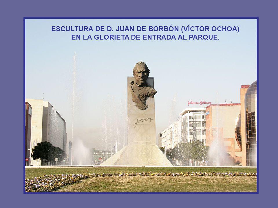 El Parque Juan Carlos I fue inaugurado con motivo de Madrid Capital Europea de la Cultura 1992.