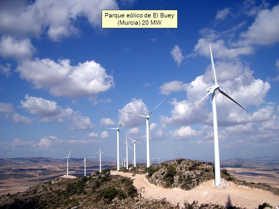 Parque eólico de El Buey (Murcia) 20 MW