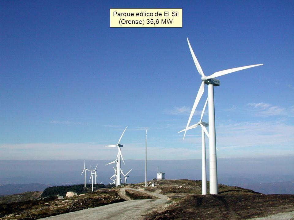 Parque eólico de El Sil (Orense) 35,6 MW