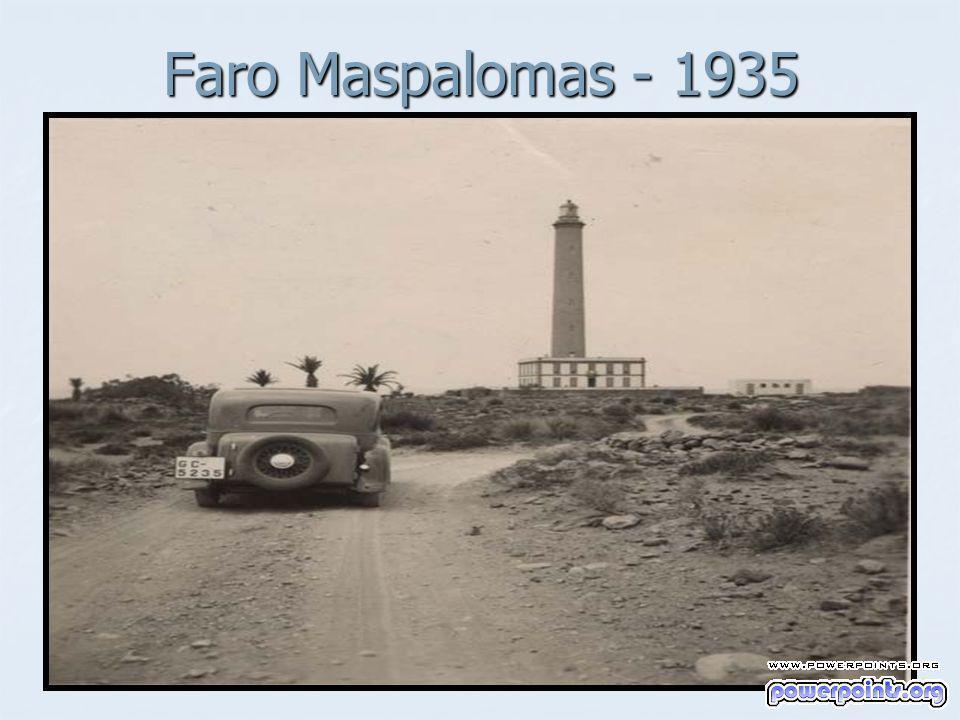 Faro Maspalomas - 1935