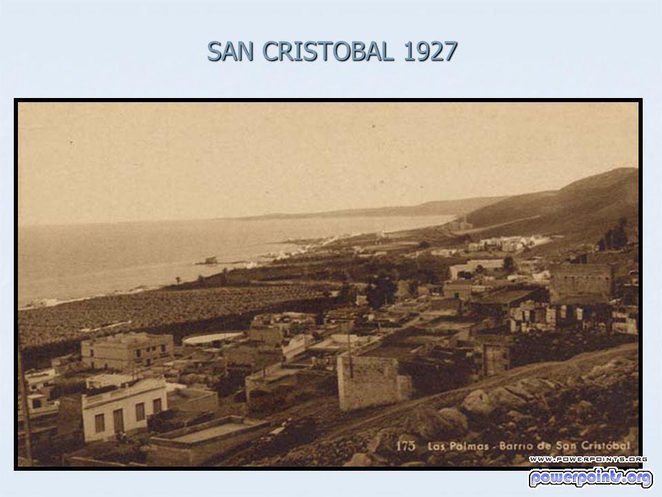 SAN CRISTOBAL 1927