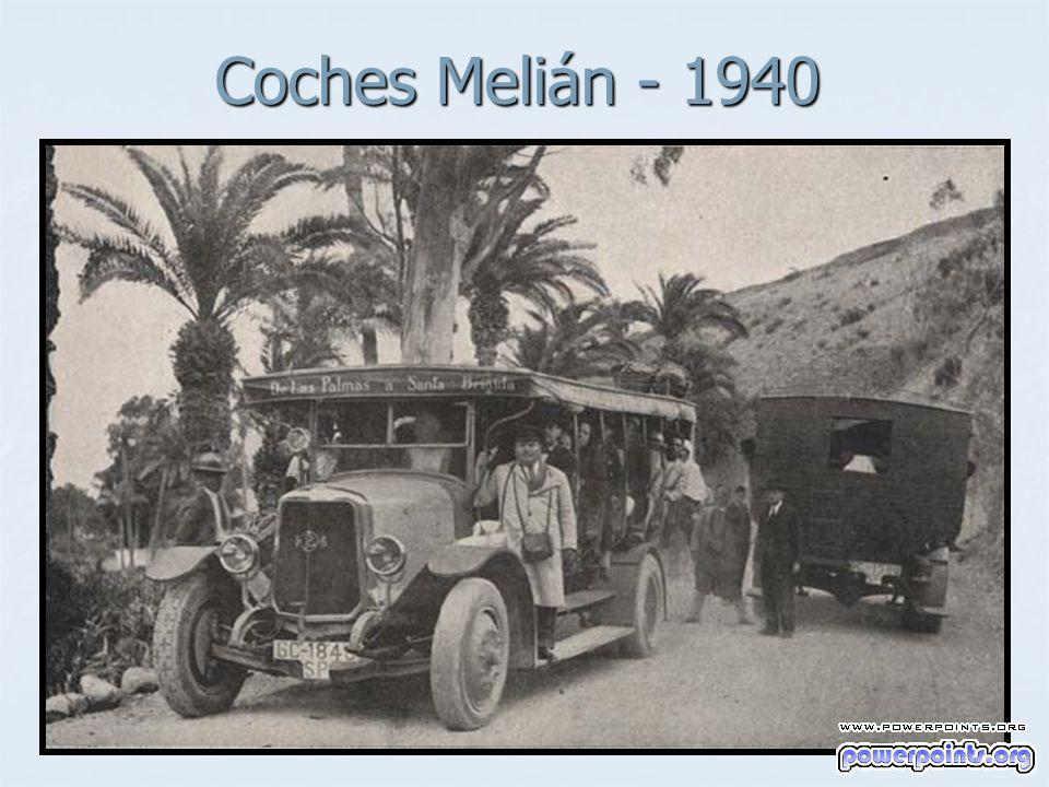 Coches Melián - 1940