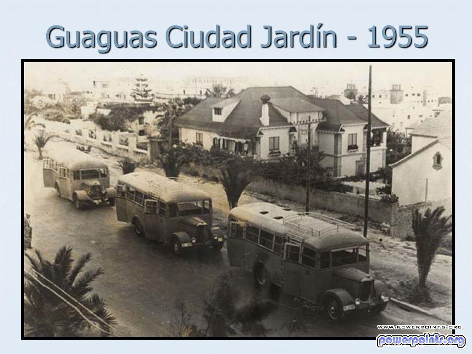 Guaguas Ciudad Jardín - 1955
