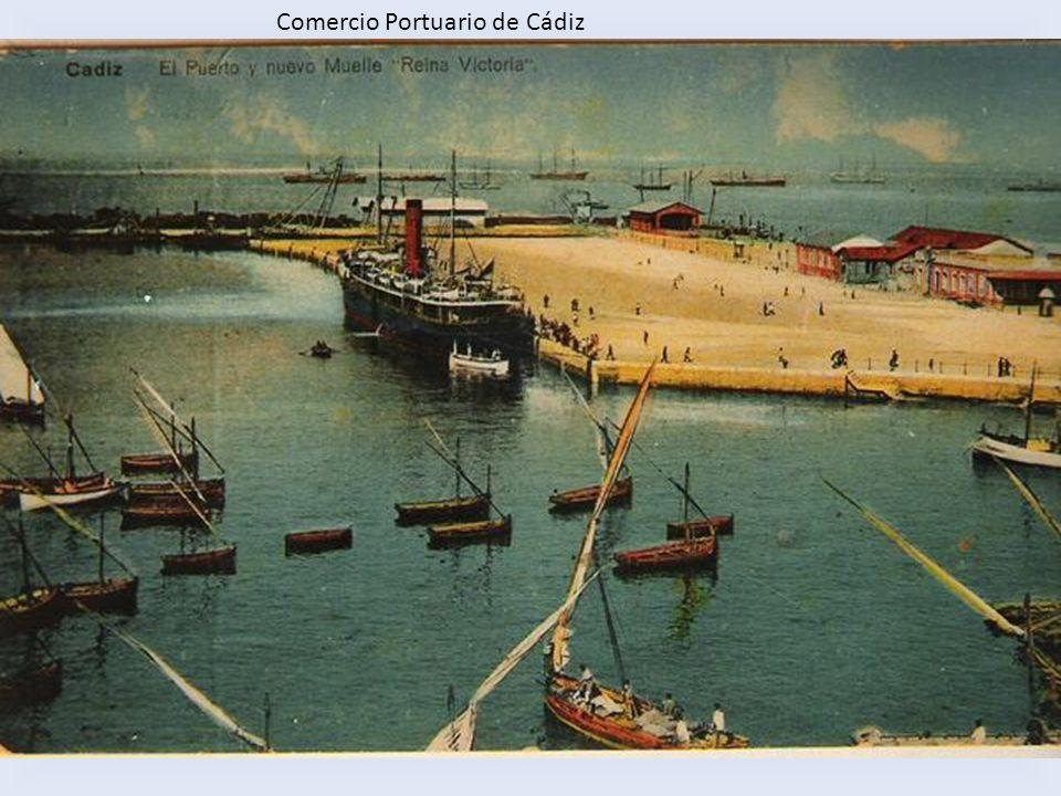 Comercio Portuario de Cádiz