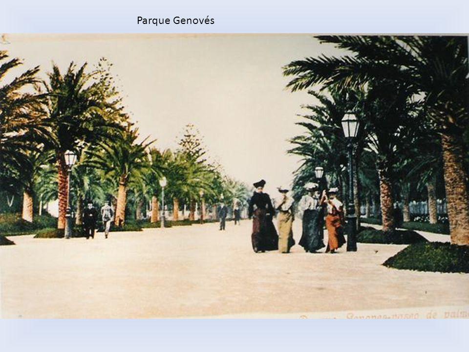Esta fuente desapareció,debe volver a su lugar de origen dentro del parque Genovés.