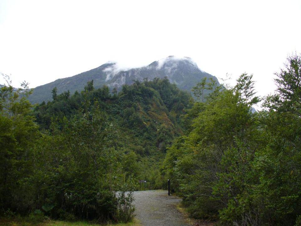 El Parque Nacional Queulat está dominado por los Andes patagónicos, y es accesible desde la Carretera Austral que recorre en forma longitudinal gran p