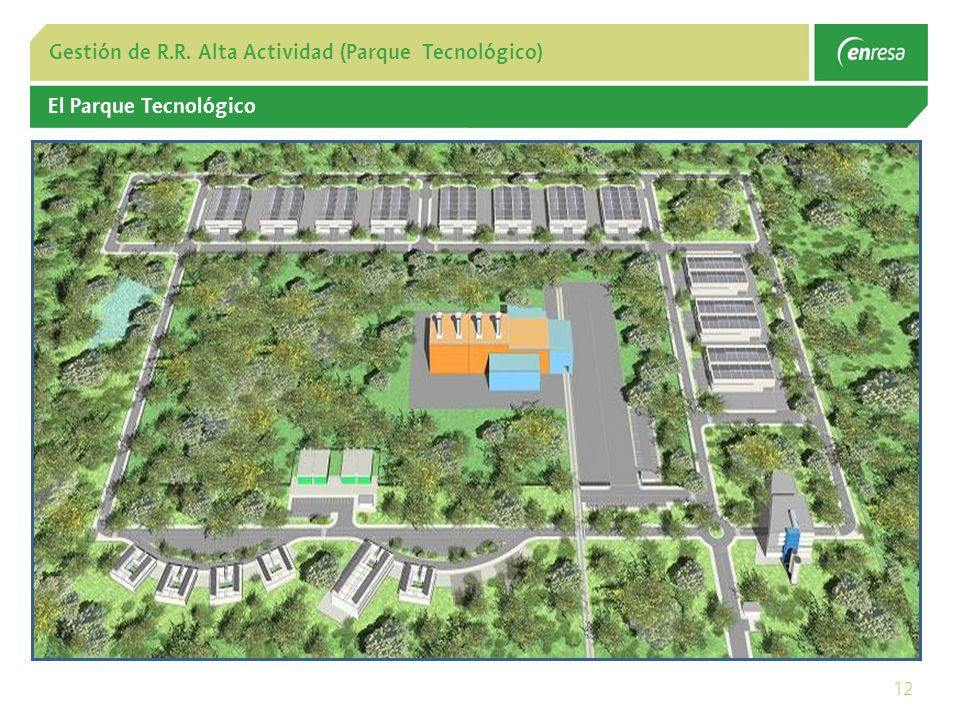 12 Gestión de R.R. Alta Actividad (Parque Tecnológico) El Parque Tecnológico