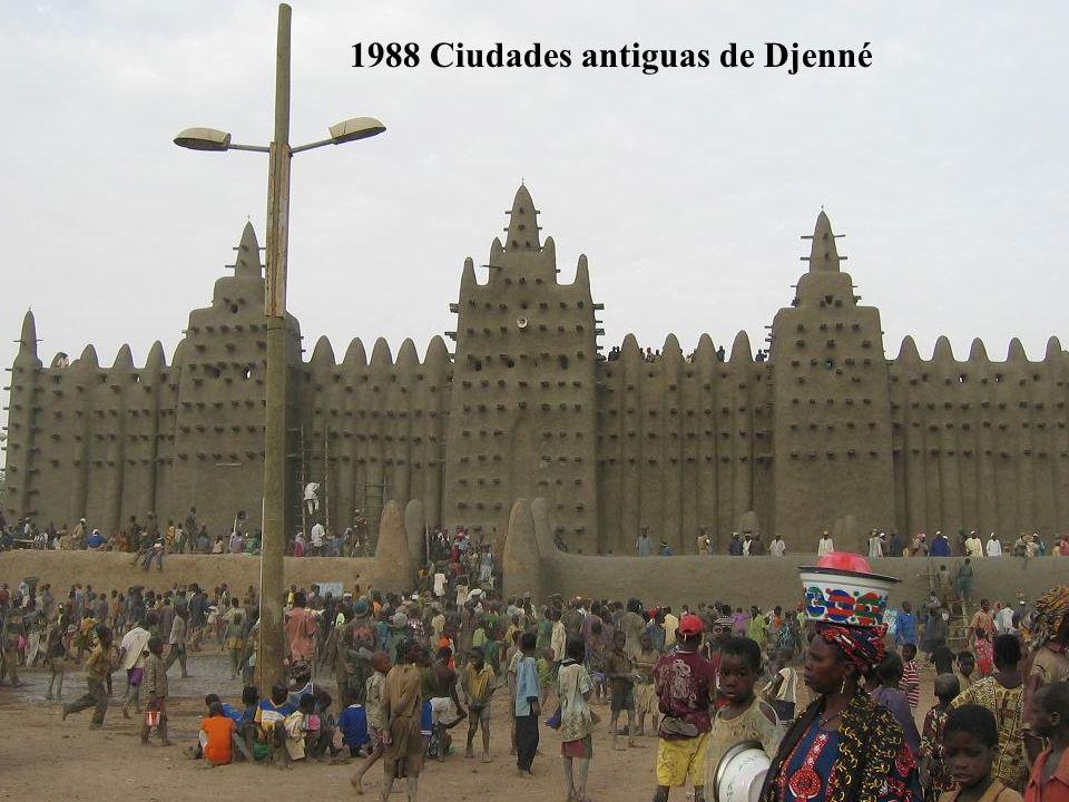 1989 Precipicios de Bandiagara (País Dogón) Mali