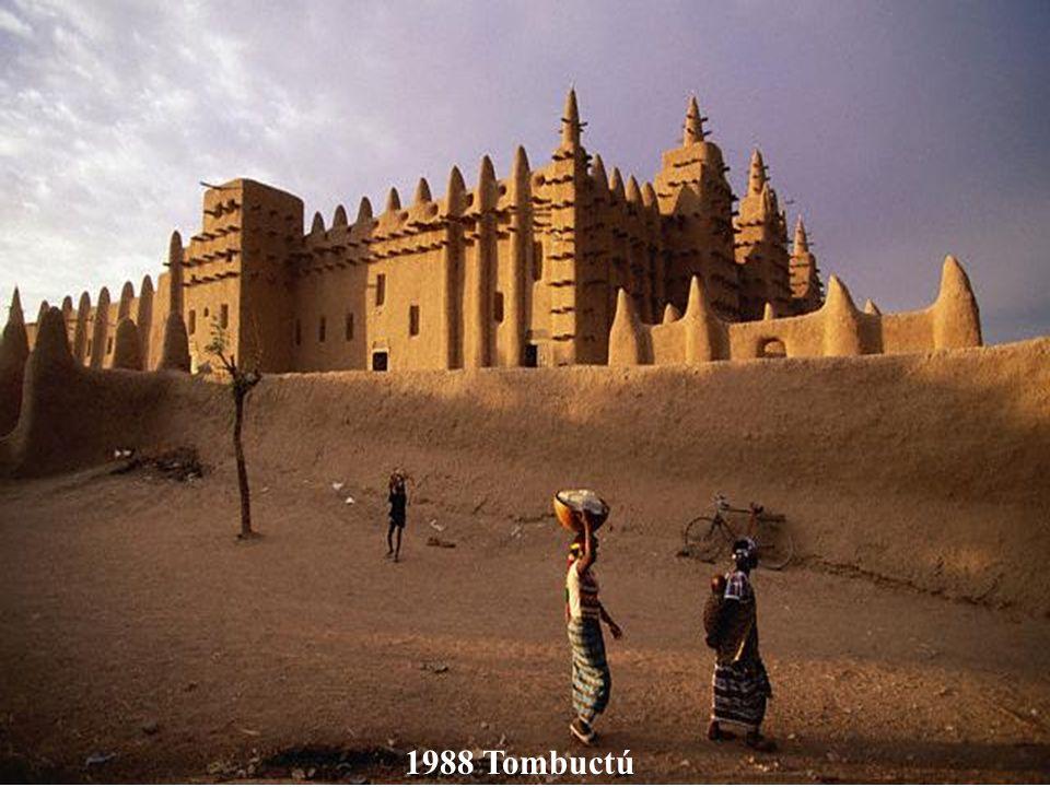 1988 Ciudades antiguas de Djenné