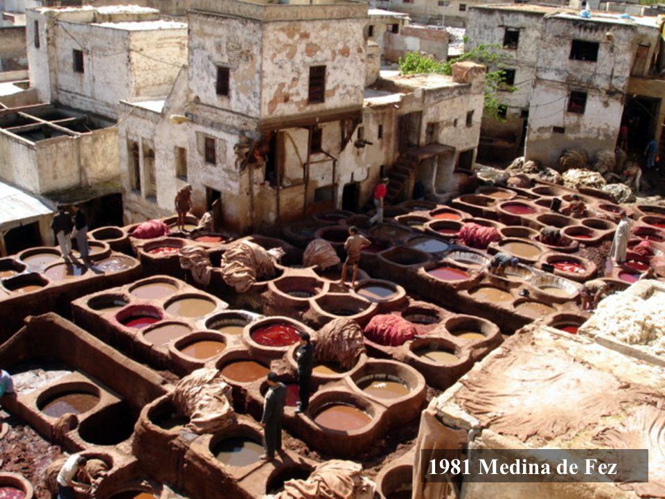 1985 Medina de Marrakech Marruecos