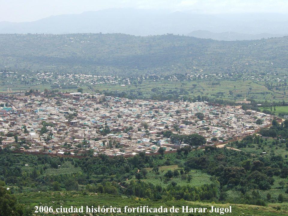1978 Iglesias talladas en la roca de Lalibela Etiopía