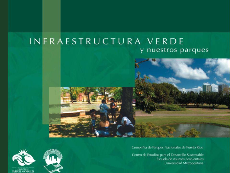 Capítulo 4 Recomendaciones para la recuperación, desarrollo, conservación y manejo de la infraestructura verde en Puerto Rico Por Edgardo González, Director del Negociado de Servicio Forestal del DRNA y Raúl Di Cristina, estudiante del Programa Graduado de Ciencias en Gerencia Ambiental de la Escuela de Asuntos Ambientales de la UMET Recomendaciones generales Recomendaciones para los niveles isla y regional Recomendaciones para ciudades y municipios Presentación de ejemplos: (1) Plan de Conservación de Áreas Sensitivas para Adjuntas y Municipios Adyacentes (nivel región-isla) (2) Área de Utuado y Lago Dos Bocas (nivel región-isla) (3) Proyecto Honor al Río en Caguas (nivel municipal) (4) Paseo Río Bayamón (nivel municipal) (5) Bosque del Pueblo en Adjuntas (nivel comunitario) (6) Bosque San Patricio en San Juan (nivel comunitario)