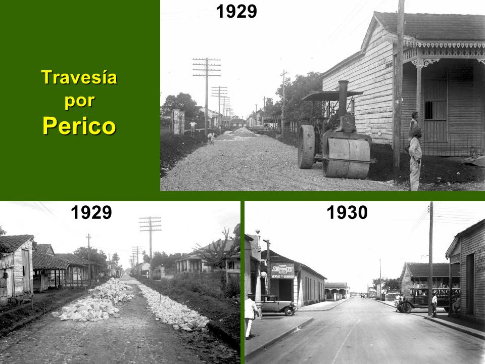 Travesía por Perico 192919301929