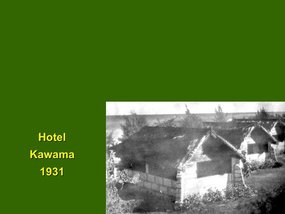 Hotel Kawama 1931