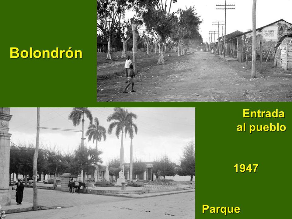 Manguitos Calle Colón Calle y parque Iberia 19501950