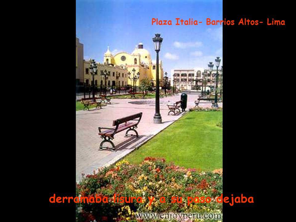 airosa caminaba la flor de la canela, Estación de Tranvía- Barranco -Lima