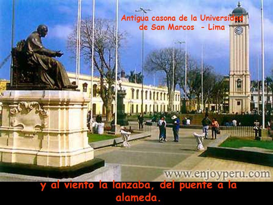 recogía la risa de la brisa del río Teatro Colón – Centro Histórico de Lima