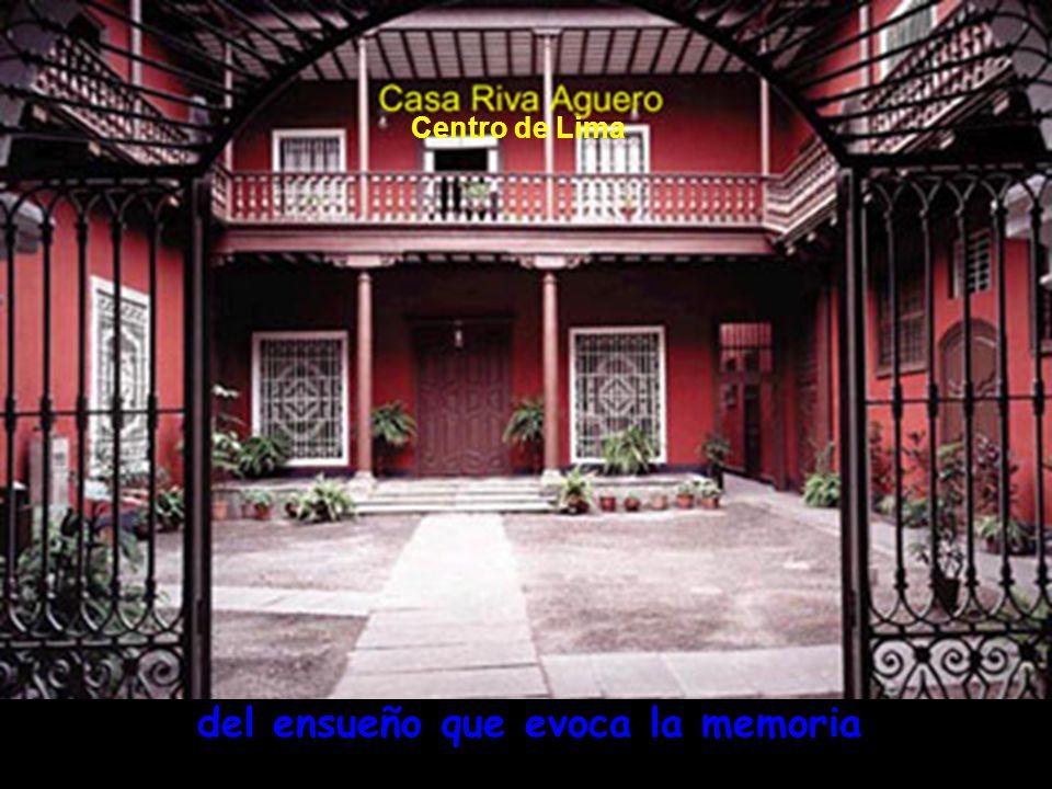 déjame que te diga la gloria, Balcones coloniales Plaza de Armas de Lima