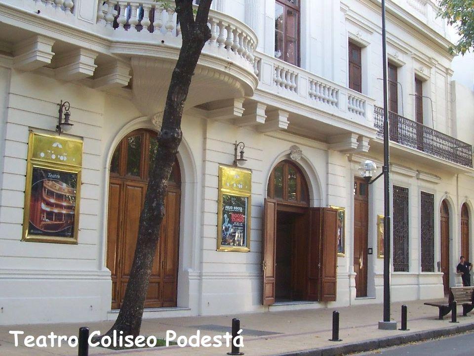 Interior del Teatro Argentino