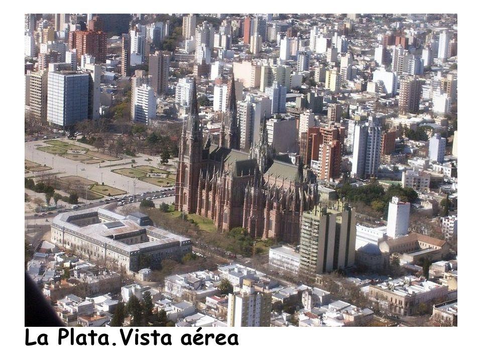 La Plata.Vista aérea