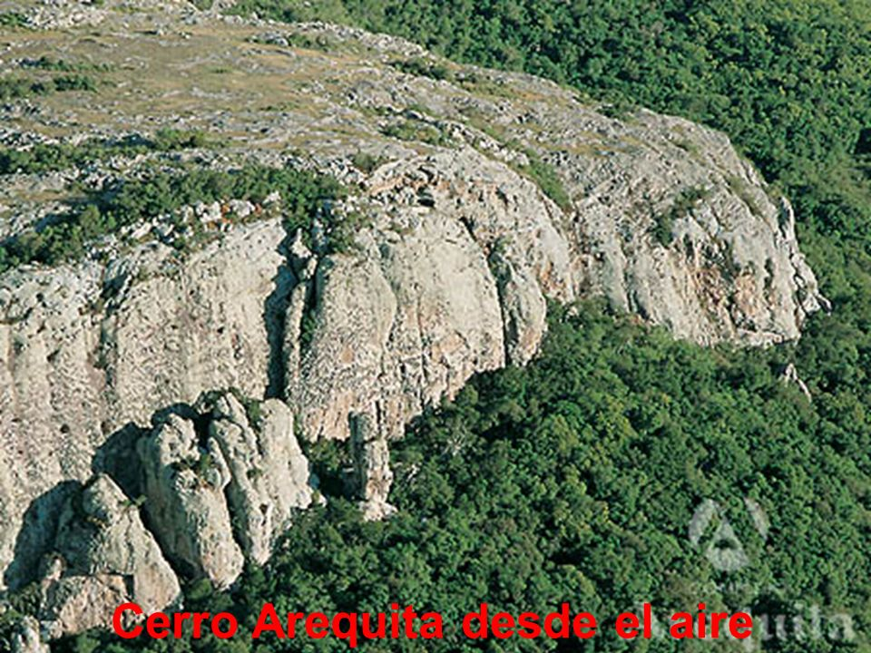 Llegando al Cerro Arequita