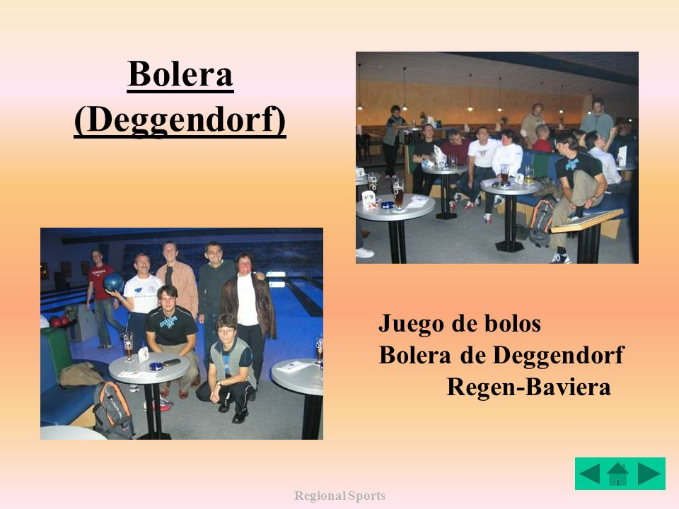 Regional Sports Bolera (Deggendorf) Juego de bolos Bolera de Deggendorf Regen-Baviera