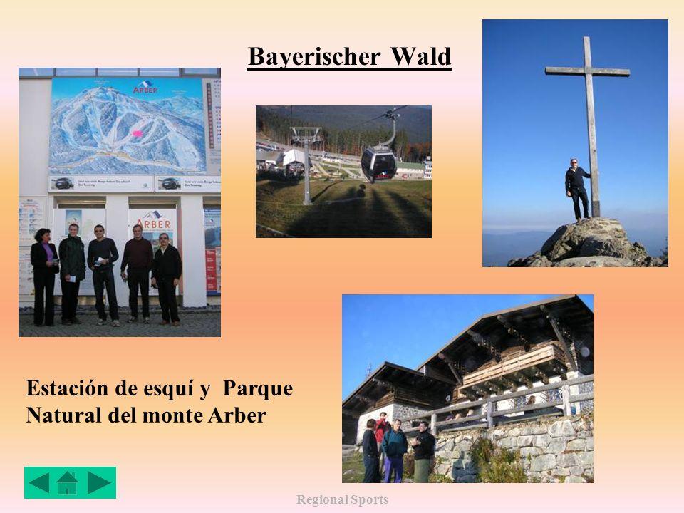 Regional Sports Bayerischer Wald Estación de esquí y Parque Natural del monte Arber
