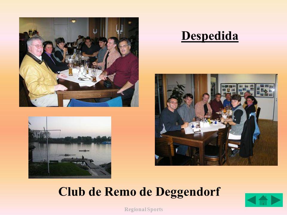 Regional Sports Despedida Club de Remo de Deggendorf