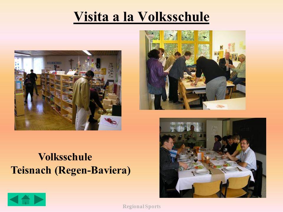 Regional Sports Visita a la Volksschule Volksschule Teisnach (Regen-Baviera)