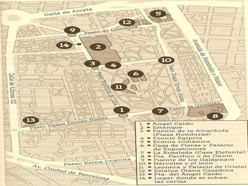 Ruta por el Madrid histórico y misterioso III MISTERIOS DEL JARDÍN DEL BUEN RETIRO El parque en sus principios hacia el año 1630 era para el recreo de