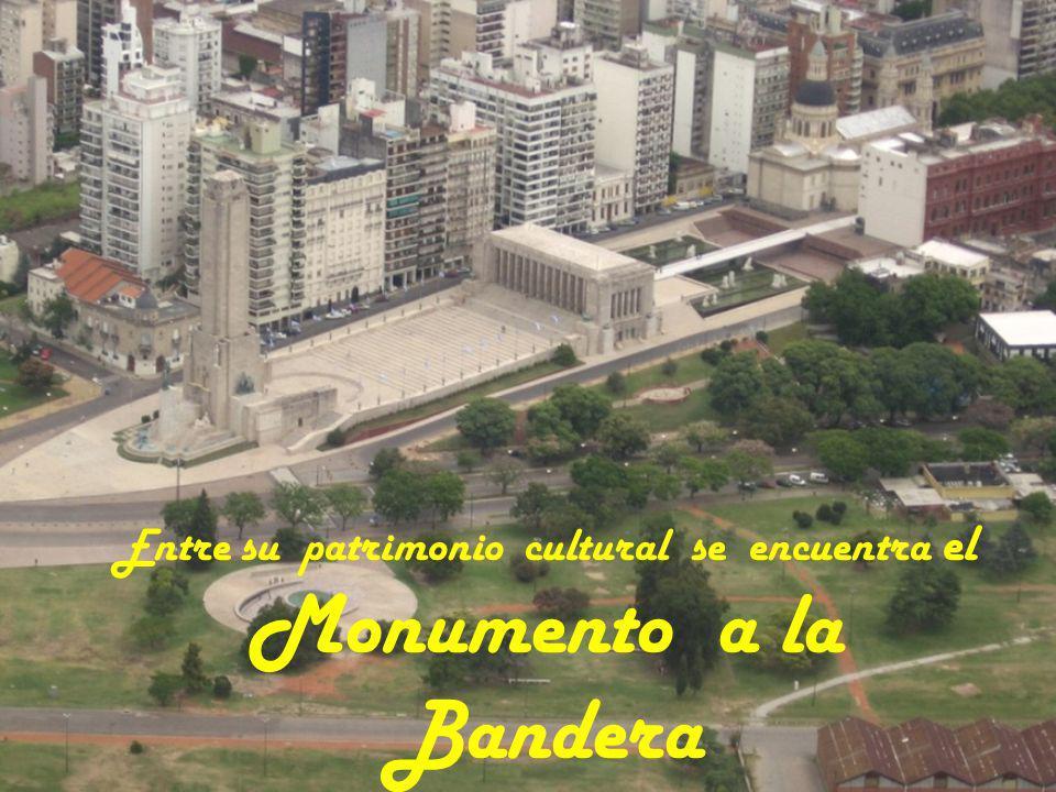 Entre su patrimonio cultural se encuentra el Monumento a la Bandera