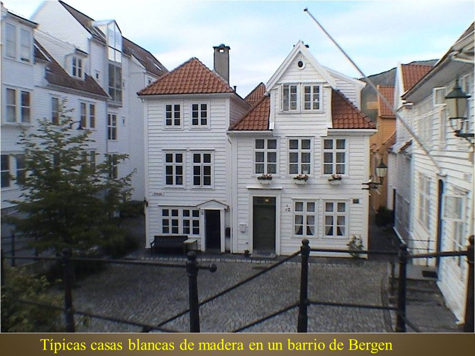 Bergen, calle comercial de Strandgatenbg