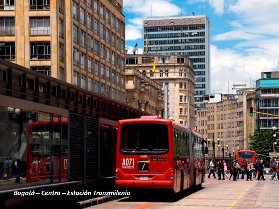 Bogotá – Centro – Estación Transmilenio