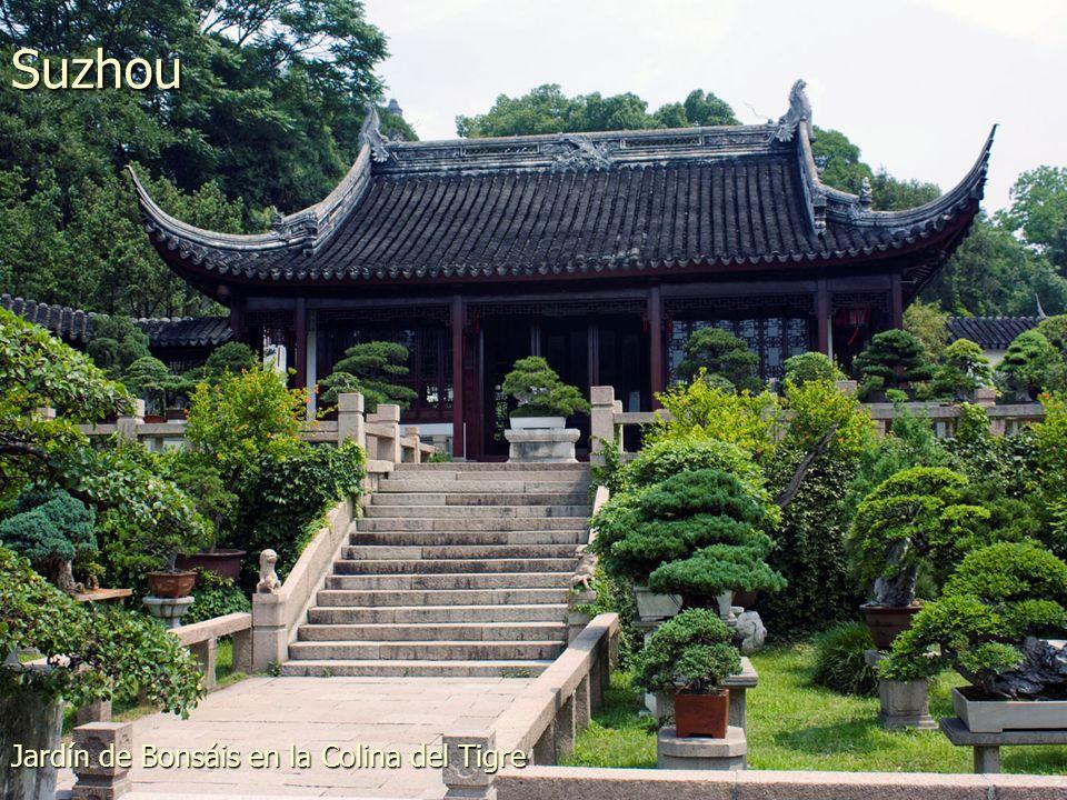 Parque Taipingqiao en XinTianDi Shanghai