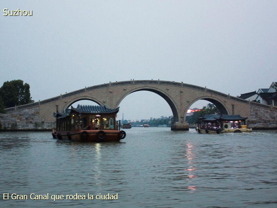 Uno de los múltiples canales de la ciudad Suzhou