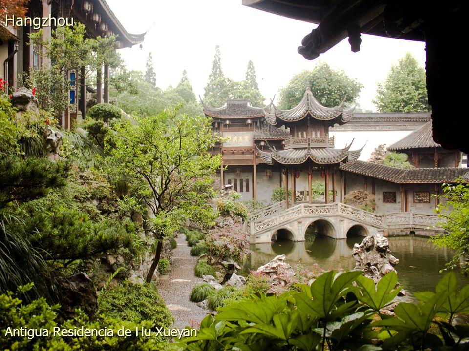 Puentecito en el Lago del Oeste Hangzhou